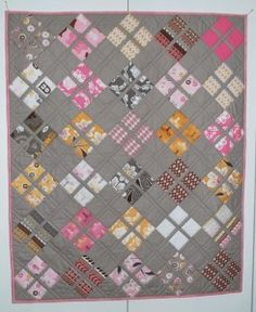 Daisy Baby Quilt Pattern - http://quilting.myfavoritecraft.org/free-quilting-patterns/