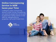 Online Conveyancing Service in NSW – Saves your Time - Looking for online conveyancing service in NSW? Strictly Conveyancing can assist the people who do not wish to spend time visiting solicitor in their office for selling/buying the properties. Call us @ 02 9630 5553. Sydney Area, Save Yourself, Wish, People, Stuff To Buy, Folk