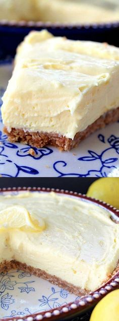This Cream Cheese Lemonade Pie from Great Grub, Delicious Treats is just what you need on a hot summer day!
