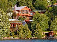 To σπίτι του Μπιλ Γκέιτς! Χτιζόταν 7 χρόνια και μόνο η τραπεζαρία του είναι 1.000 τ.μ! Δείτε το και πάθετε πλάκα…  #Viral