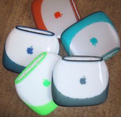 Apple iBook G3 Clamshell Colors