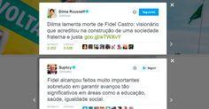 Dilma Rousseff e Suplicy também homenagearam o assassino e também levaram respostas duras