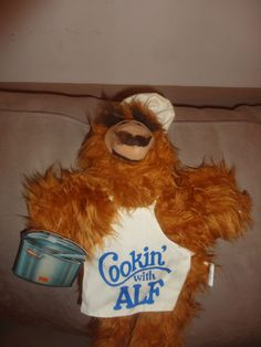 Vintage The Many Faces of Alf Burger King Puppet Doll w/ tags 1988 Cookin' with. Find me at www.dandeepop.com