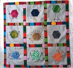 Hexagon Critter Quilt