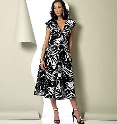 Vogue Patterns Misses' Dress 9103