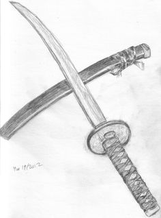 Αποτέλεσμα εικόνας για katana drawing