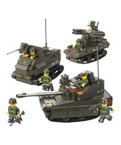 Take a look at this United Military Exercise Block Set by Sluban on today! Lego Machines, Army Party, Lego People, Lego Military, Brick Block, Lego Worlds, Building Toys, Fine Motor Skills, At Home Workouts