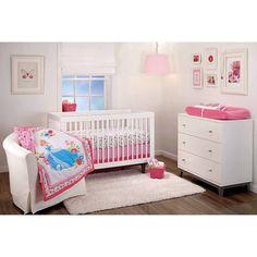 Baby Mod Ava 4-Piece Nursery Set with BONUS Changing Table, Gray | 3 ...