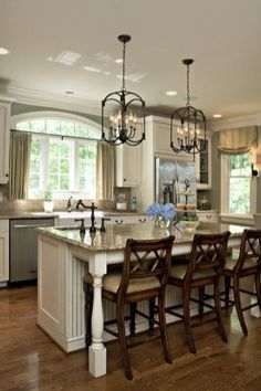 5 Impressive Tricks Can Change Your Life: Kitchen Remodel Modern Apartment Therapy colonial kitchen remodel decor.Kitchen Remodel Rustic Dining Tables kitchen remodel modern home tours. Sweet Home, Kitchen Redo, Kitchen Ideas, Kitchen Modern, Design Kitchen, Kitchen Colors, Kitchen Photos, Kitchen Interior, Modern Kitchens