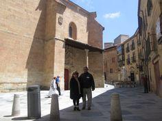 Por las calles de Salamanca.