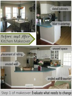 ALL DIY:: Beautiful Kitchen Makeover ! Has Amazing Remodeling tips, details, and full tutorials ! by @Jenna_Burger, SASinteriors.net