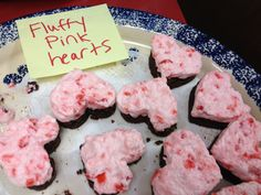 Pink Fluffy Hearts from our Valentine's Day Baked Goodies Contest