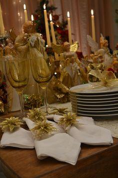 Mesa Americana- American Decor- Editorial Natal- Home Decor- Decoração Festas- Mesas Decoração- Natal