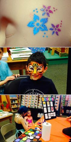 Choose Amber Smigelski if you need to hire a face painter for your next event. This professional provides quality face painting for birthday parties and other special occasions.