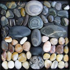 Beautiful Stone Assortment, Polished by the Elements