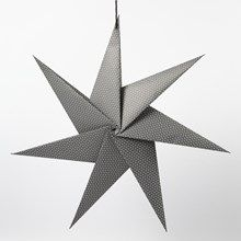 13324 Seitsensakarainen tähti neliöpaperista