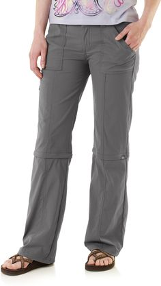 On my Christmas list! Camping appare, why must you be so expensive?? :( prAna Monarch Convertible Pants - Women's
