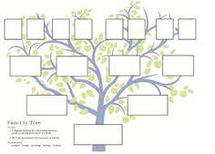 printable blank family tree