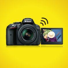 Nikon D5300 mit Wi-Fi