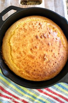 Looking for an easy homemade southern cornbread without buttermilk recipe? This is the best cornbread recipe to make cornbread from scratch easily. Serve this Southern Style Cornbread it with rich real butter and a big pitcher or sweet tea! Cornbread Recipe From Scratch, Southern Cornbread Recipe, Moist Cornbread, Honey Cornbread, Homemade Cornbread, Southern Recipes, Cornbread Recipe No Sugar, Cast Iron Cornbread Recipe Without Buttermilk, Recipes