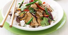 Use all your favourite vegetables in this Thai-style stir-fry.