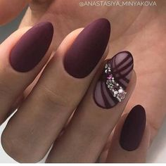 In search for some nail designs and ideas for your nails? Here is our listing of must-try coffin acrylic nails for fashionable women. Frensh Nails, Red Nails, Hair And Nails, Acrylic Nails, Jewel Nails, Purple Manicure, Coffin Nails, Fancy Nails, Cute Nails