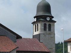 Eglise au clocher cylindrique de bois d amont guide touristique du jura franche comte