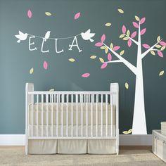 babyzimmer wandtattoos liste bild und afcdfcdaaccfad nursery wall stickers tree wall decals