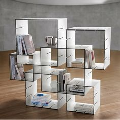 Estante de livros modular criativa permite que você mude o visual dela sempre que quiser | ROCK'N TECH