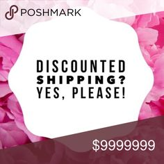 DISCOUNTED SHIPPPING- MY ENTIRE CLOSET I slashed some prices, so did posh!!! TAKE ADVANTAGE! Even make an offer!!! Next hour only! Other