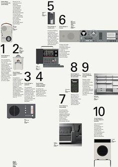 Bibliothèque / Vitsoe / Dieter Rams: Ten Principles / Poster / 2009