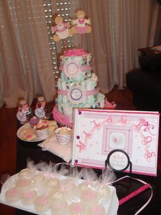 Souvenirs del Baby Shower. Romantic baby shower. http://antonelladipietro.com.ar/blog/