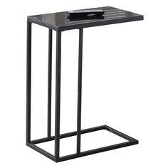 Tony Modern Black Accent Table