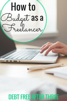 Having an irregular income as a freelancer can be tough, but it doesn't mean you should give up budgeting! How to budget as a freelancer and plan for irregular income. www.debtfreeafter...