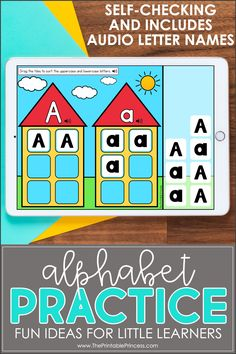 Use these fun self-checking boom decks to help your kindergarten students master their alphabet and letter sound skills. Students will love using technology in the classroom! You can even assign them online!