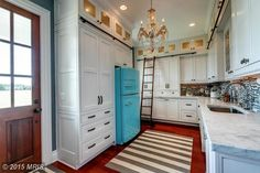 fantastic pantry in dream home!!----7328 Kent Point Rd, Stevensville, MD 21666 - Home For Sale   14,000 sf   7 bed   8 full 2 half bath   20 acres   waterfront   built 2004   $4,975,000 USD.