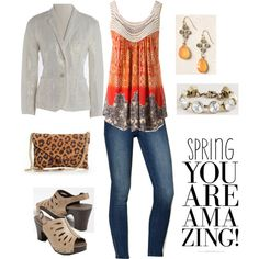amazing spring, created by carrie2 on Polyvore
