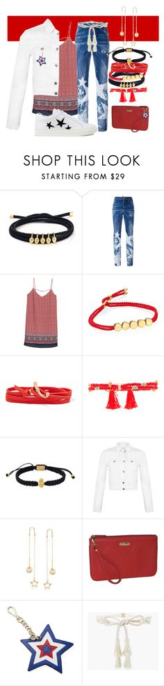 """""""Big Star Jeans 🌠"""" by kelli-bailey-ouimet ❤ liked on Polyvore featuring Jules Smith, Dsquared2, MANGO, Monica Vinader, Tory Burch, Shashi, King Baby Studio, Miss Selfridge, Ross-Simons and Buxton"""
