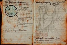 inside River Song/ Doctor Who journal