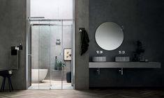 Box doccia Otto - ARBLU Jacuzzi, Interior Design, Mirror, Bathroom, Hotel, Furniture, Home Decor, Chromotherapy, Shape