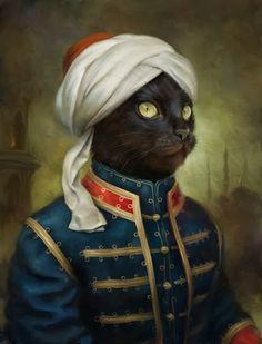 The Hermitage Court Waiter Cat  For the past 200 years, a countless number of cats have patrolled the grounds of the Hermitage, tasked with...