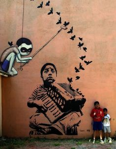 Street Art accordéon