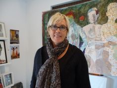 In her paintings Jacqueline van der Plaat uses anything from acrylic and oil ...