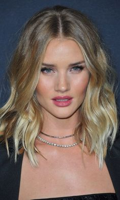 The best summer haircuts for every hair type and length. Rosie Huntington-Whiteley shows off the best look for wavy hair: a lob with added texture.