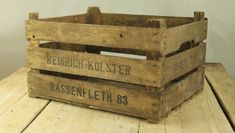 old wooden boxes - Google Search