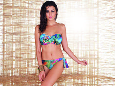 The Fantasie Dominica a blend of tropical print in vibrant colours.