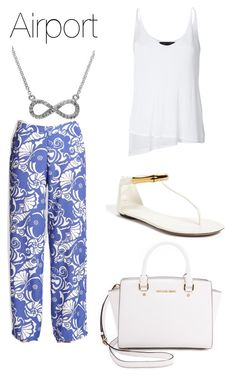 """Airport"" by its-massieee ❤ liked on Polyvore featuring Mode, Lilly Pulitzer, rag & bone, Gucci, Effy Jewelry, MICHAEL Michael Kors, women's clothing, women's fashion, women und female"
