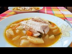 Εύκολη και νόστιμη ψαρόσουπα!! - YouTube Baking Recipes, Soup Recipes, Healthy Snacks, Healthy Recipes, Fish Soup, Low Sodium Recipes, Greek Recipes, Clean Eating, Curry