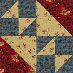 Civil War Quilts: 14 Fox and Geese