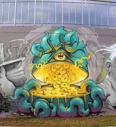 Erase, Bulgaria, imaginative street art, graffiti art, street artists, urban murals, urban art, mr pilgrim art.